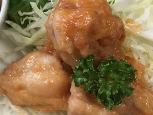 揚げ鶏の南蛮あん絡め2